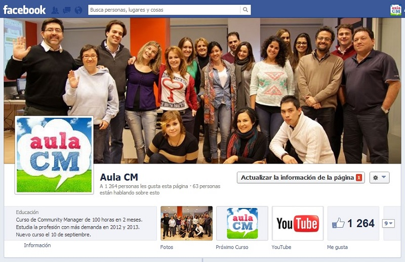 Facebook Aula CM